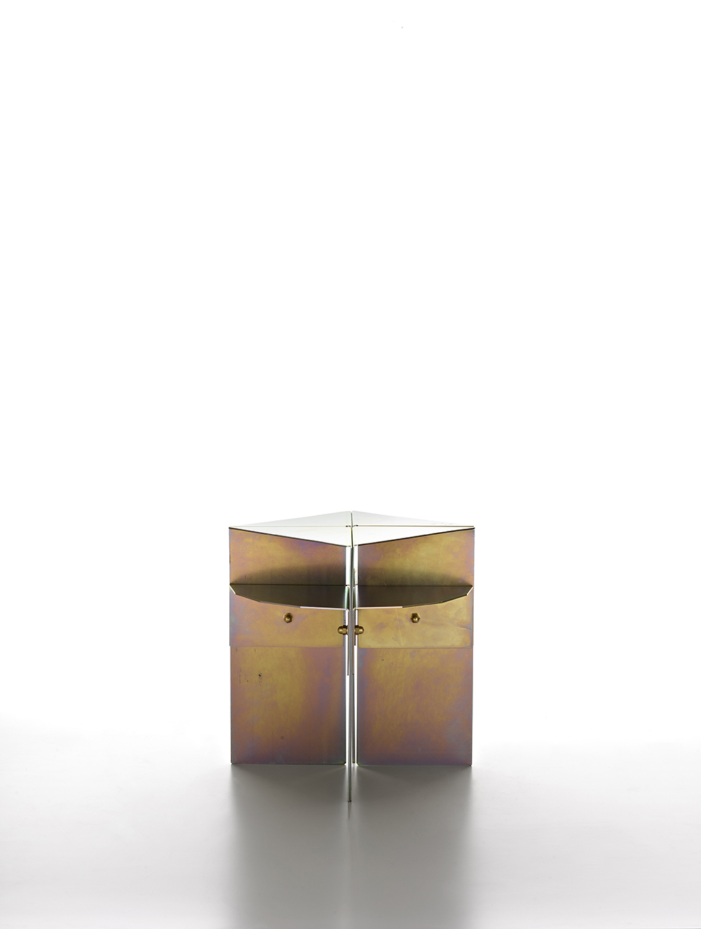 BrooksbankCollins_Carbo Flavus_Side Table_Yellow Passivated_2