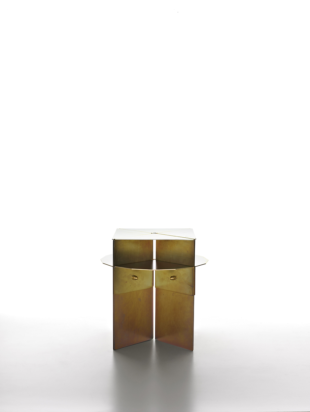 BrooksbankCollins_Carbo Flavus_Side Table_Yellow Passivated_3